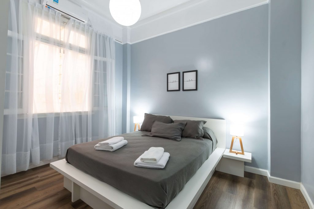 gordijnen in slaapkamer