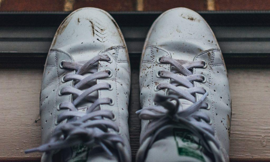 vieze schoenen